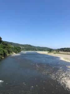 【高田橋から眺める相模川】